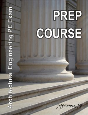 Architectural Engineering PE Exam Prep Course