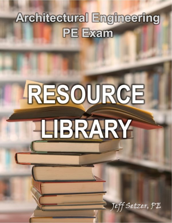 Architectural Engineering PE Exam Resource Library